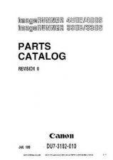Buy Canon IR400-GP405 PARTS CATALOG Service Schematics by download #135214