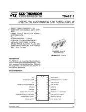 Buy MODEL TDA8218 Service Information by download #124838