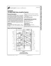 Buy SEMICONDUCTOR DATA LM1203AJ Manual by download Mauritron #189119