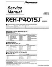 Buy PIONEER C2643 Service Data by download #149026