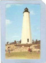 Buy CT New Haven Lighthouse Postcard Lighthouse Point lighthouse_box1, ct_box7~90