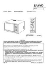 Buy Sanyo Service Manual For EM-P1010 SERVICE FLASH Manual by download #175829