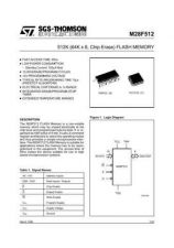 Buy SEMICONDUCTOR DATA 28F512J Manual by download Mauritron #186883