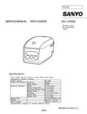 Buy Sanyo ECDT1820(OM8010012-00) Manual by download #174221