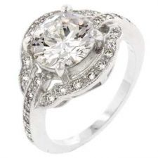Buy Antique Style Engagement Ring (size: 09)