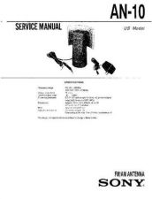 Buy SONY AN-10 Service Manual by download #166263