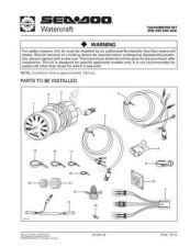 Buy SEADOO SSI9713A Service Schematics by download #157738
