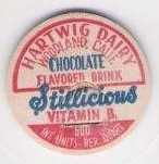 Buy CA Woodland Milk Bottle Cap Name/Subject: Hartwig Dairy Chocolate Flavored~115