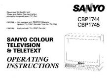 Buy Sanyo CBP174 Manual by download #171327