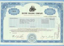 Buy CT na Stock Certificate Company: Seconn Holding Company ~75