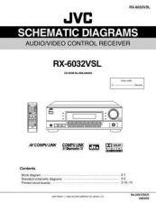 Buy JVC RX-6032VSL Service Manual by download #156483