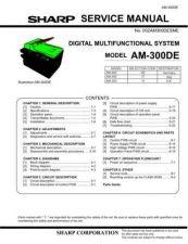 Buy Sharp AM300DE SM GB 4 Manual by download #179265