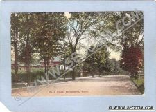 Buy CT Bridgeport Park Place Tree Lined Street Scene ct_box1~328