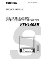Buy Toshiba VTV1402S Manual by download #172520