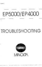 Buy Minolta TROUBLESHOOT Service Schematics by download #137642