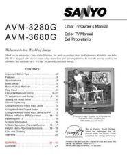 Buy Sanyo AVM3680G(OM)df Manual by download #172699