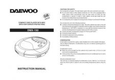 Buy Deewoo DMX-150 (E) Operating guide by download #167571