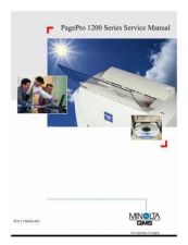 Buy MINOLTA Konica minolta qms pagepro 12xx servicemanual by download #138177
