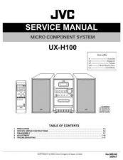 Buy JVC UX-H10 Service Manual by download #156612
