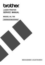 Buy Brother 760SM Service Schematics by download #134737