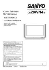 Buy Sanyo CE28WN4-B-00-01-02-03 Ammendment Manual by download #173183