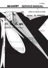 Buy Sharp 568 XL-HP800 Manual by download #178689