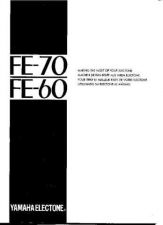 Buy Yamaha FE70E Operating Guide by download Mauritron #203705