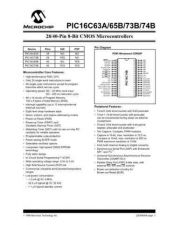 Buy SEMICONDUCTOR DATA PIC16C6X7J Manual by download Mauritron #189939