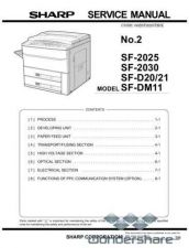 Buy Sharp 80 SF-2025 SM2 Manual.pdf_page_1 by download #178902