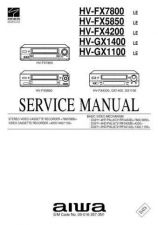 Buy AIWA HVFX10 SERVICE INFO by download #125316