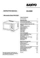 Buy Sanyo CG450 Manual by download #173327