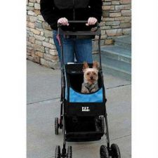 Buy Pet Gear Travel System II Pet Stroller Backpack Car Seat Blue
