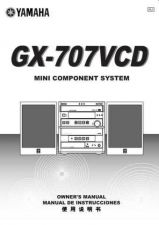 Buy Yamaha GX-707VCD(1) Owners Manual User Guide Operating Instructions by download