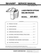 Buy Sharp ARDU1A1E Service Manual by download #138807