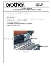 Buy Brother SU P1083 REAR PAPER JAMS Service Schematics by download #134935