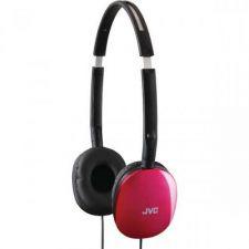 Buy JVC Flats Lightweight Headband Headphones (pink)