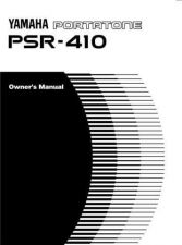 Buy Yamaha PSR410E Operating Guide by download Mauritron #204140