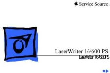 Buy APPLE LASERWRITER 16 600 PS Service Manual by download #149940