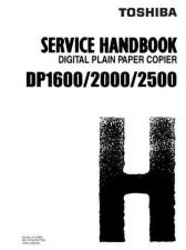 Buy Toshiba DP16 20 25 SH Service Manual by download #139255