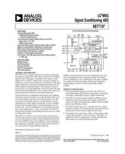 Buy INTEGRATED CIRCUIT DATA AD7710J Manual by download Mauritron #186336