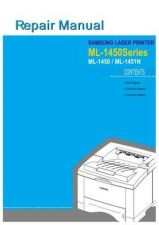 Buy Samsung ML-1450R M Manual by download #164546