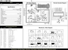 Buy JVC 14E1 Schematics plus by download #151756