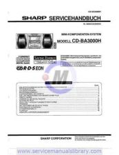 Buy Sharp CDC1H-CPC1H SM GB(1) Manual by download #179867