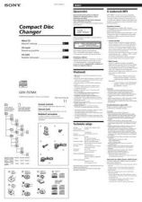 Buy SONY CDX-454RF BOOK CZ-SCREEN OPERATING GUIDE by download #166613