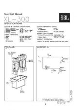Buy INFINITY XL 300 Service Manual by download #151739