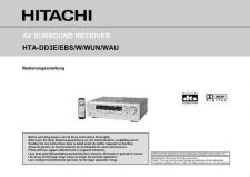 Buy Sanyo HTADD3EBS FR Manual by download #174455