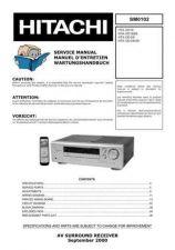 Buy HITACHI HTADD1E SM 0102E Manual by download Mauritron #186151