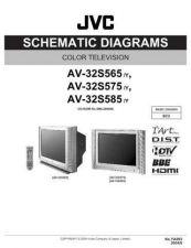 Buy JVC AV-32S575 sch Service Schematics by download #155365