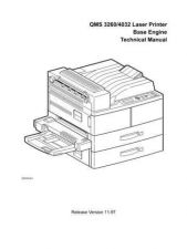 Buy MINOLTA QMS 3260-4032 CHAP1TO10 SERVICE MANUAL by download #148537
