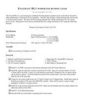 Buy ELECRAFT DL1 DUMMYLOAD MANUAL2 by download #120087